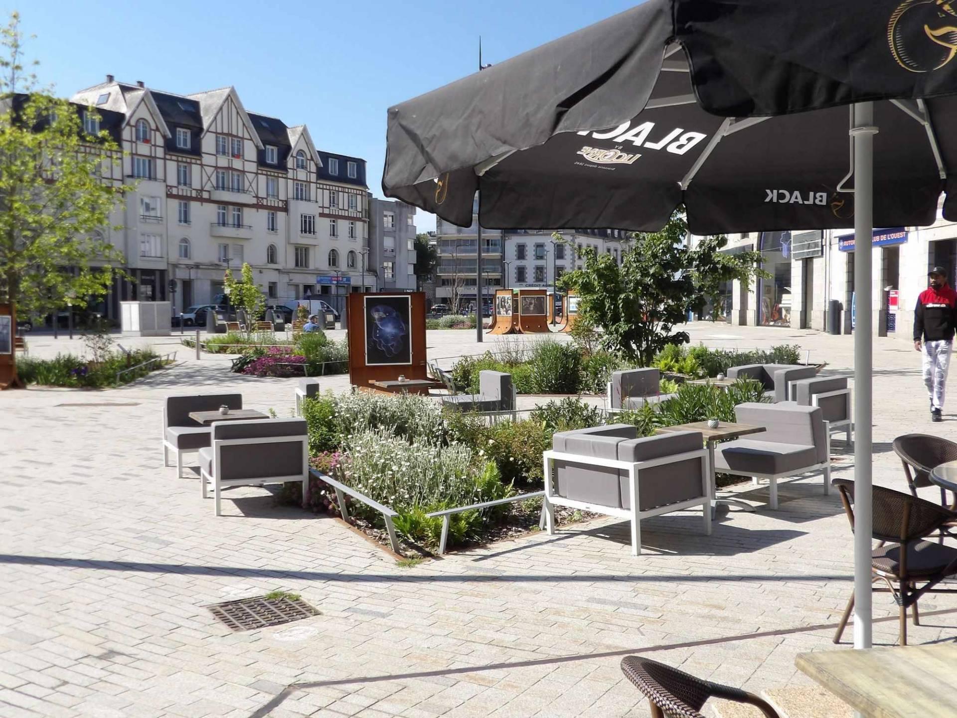 Place Du Guesclin à St-Brieuc